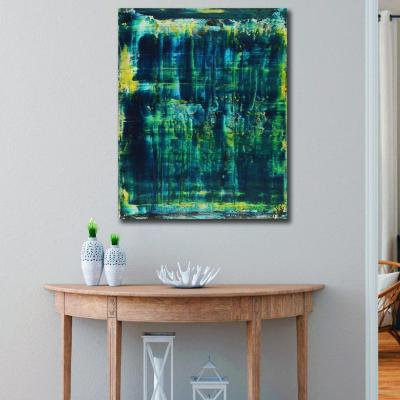 Room View - Emerald Forest Spectra 3 by Nestor Toro