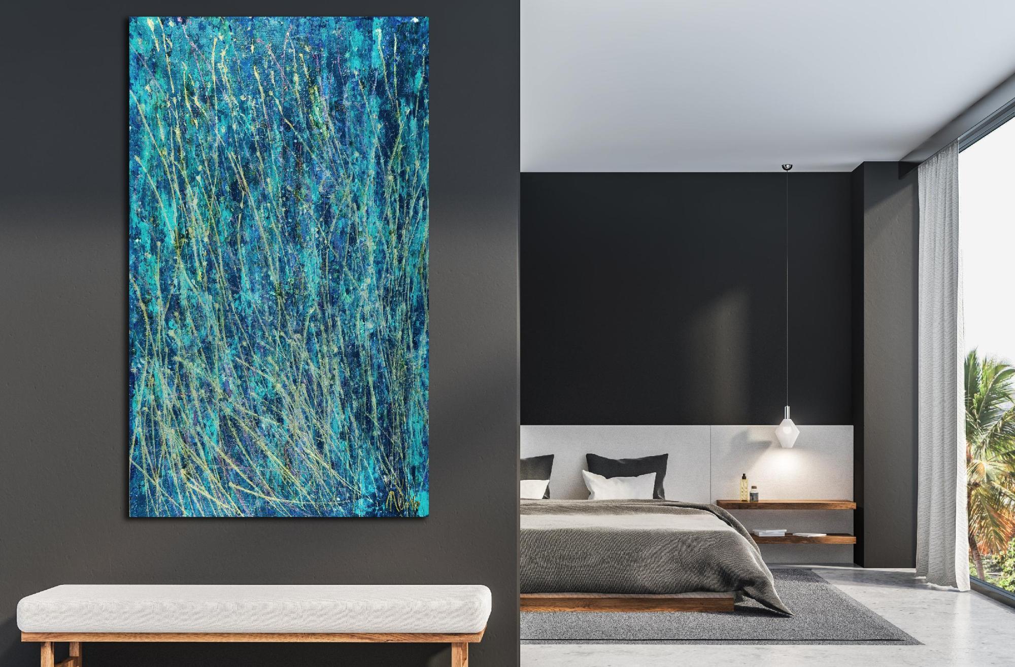 Room View - Aqua Garden (Blinding lights) (2020) - Statement Work!