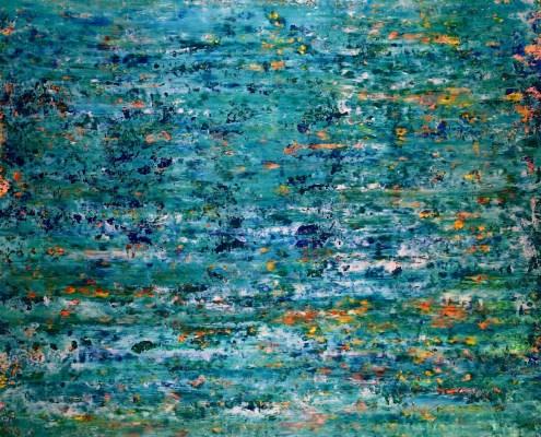 SOLD - Vernal creeks (2019) by Nestor Toro