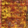 Rojo infinito (Fiery spectra) 4 (2020) - Abstract on Paper
