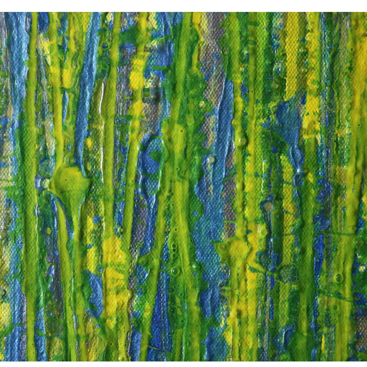 Detail - A closer look (Luminance garden) 4 (2020) by Nestor Toro