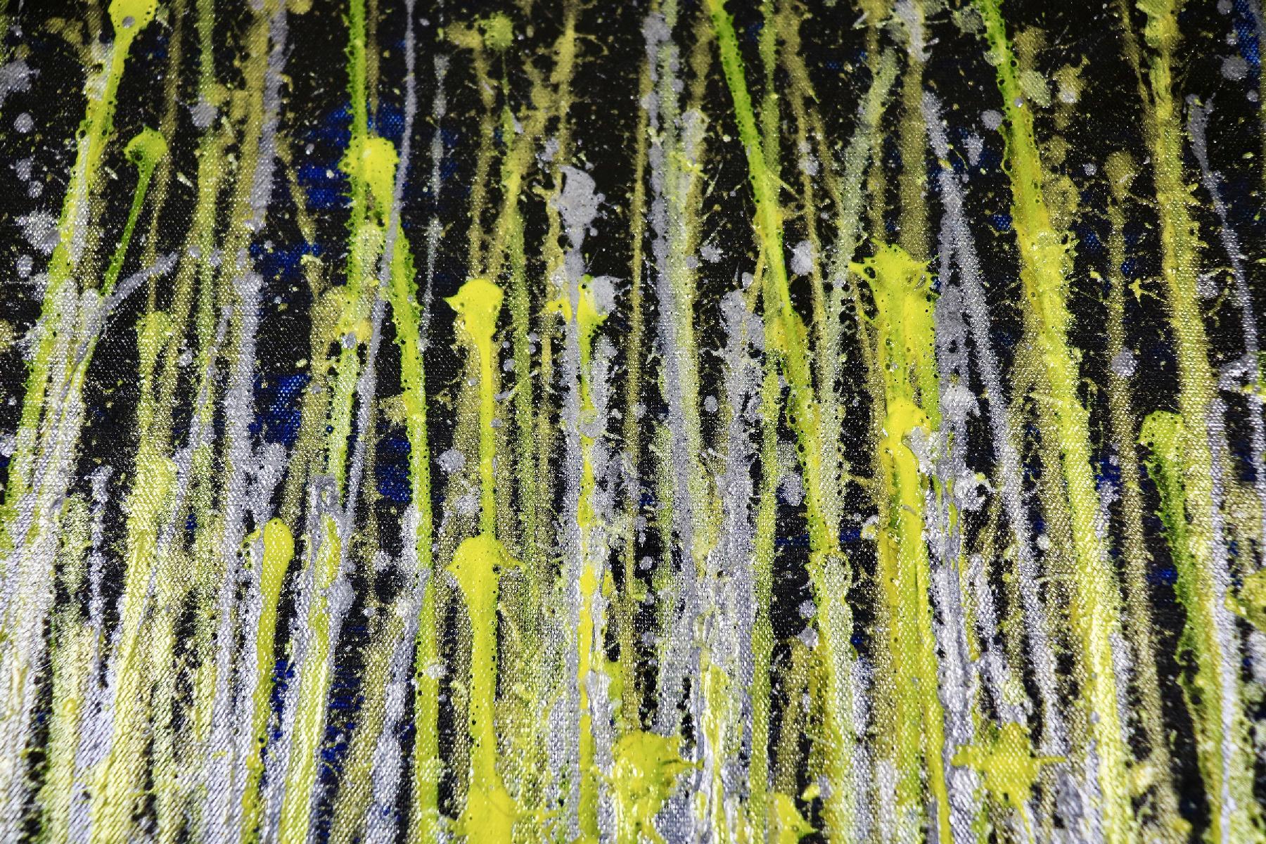 Detail - A closer look (Luminance garden) 3 (2020) by Nestor Toro