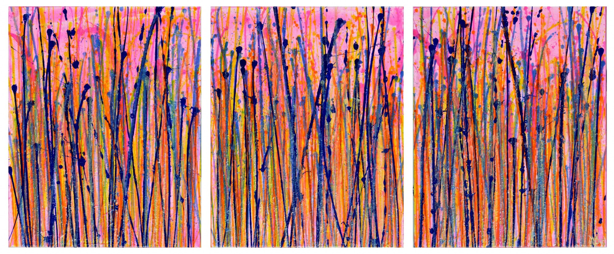 Translucent Panorama (Natures Imagery) 2 (2020) - Triptych
