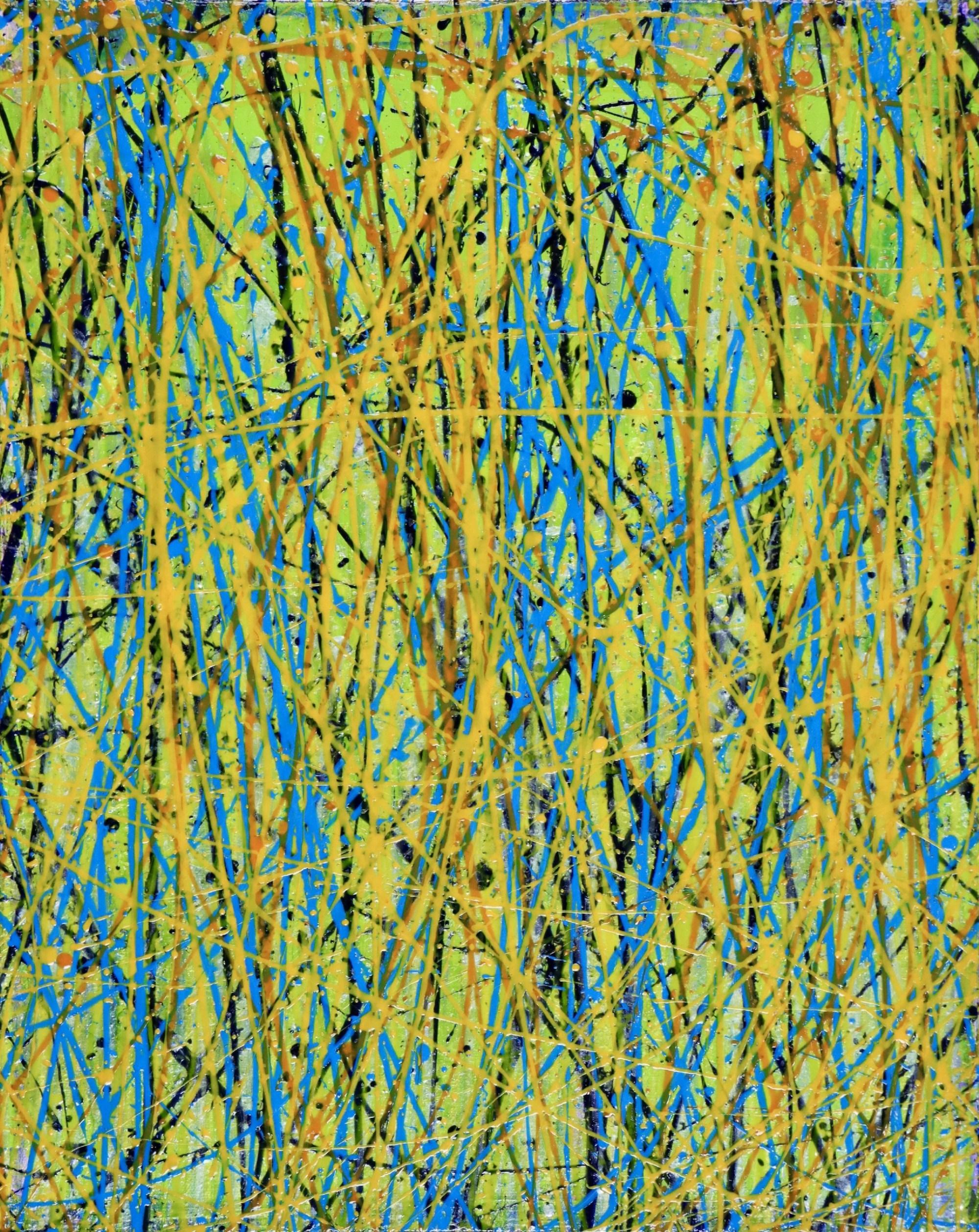 Secibd canvas - Close and Afar - Triptych (2020) by Nestor Toro