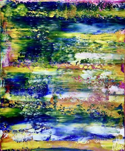 Full Canvas - Rio Azul Infinito (Infinite Blue River) (2020)