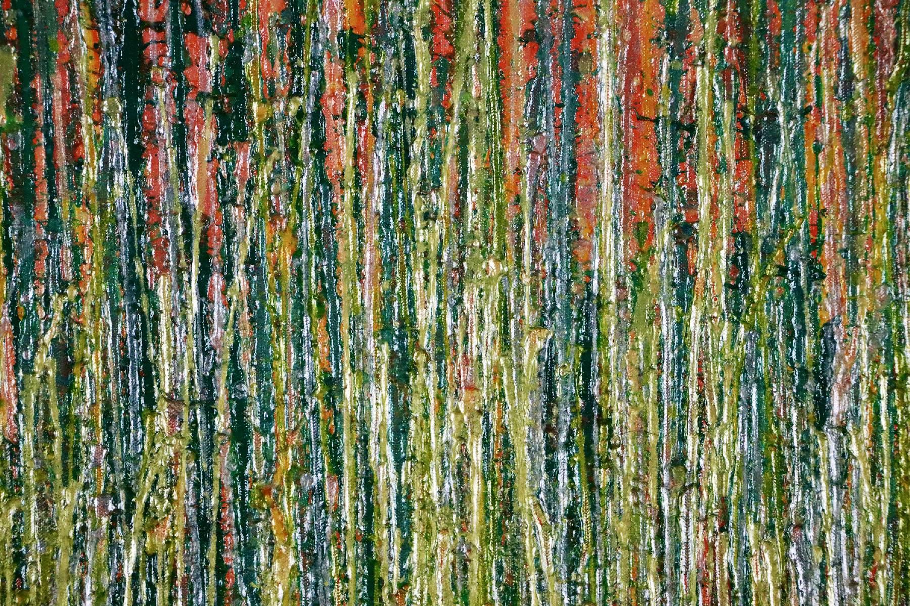 Detail - Daydream panorama (Natures imagery) 18 (2020) by Nestor Toro