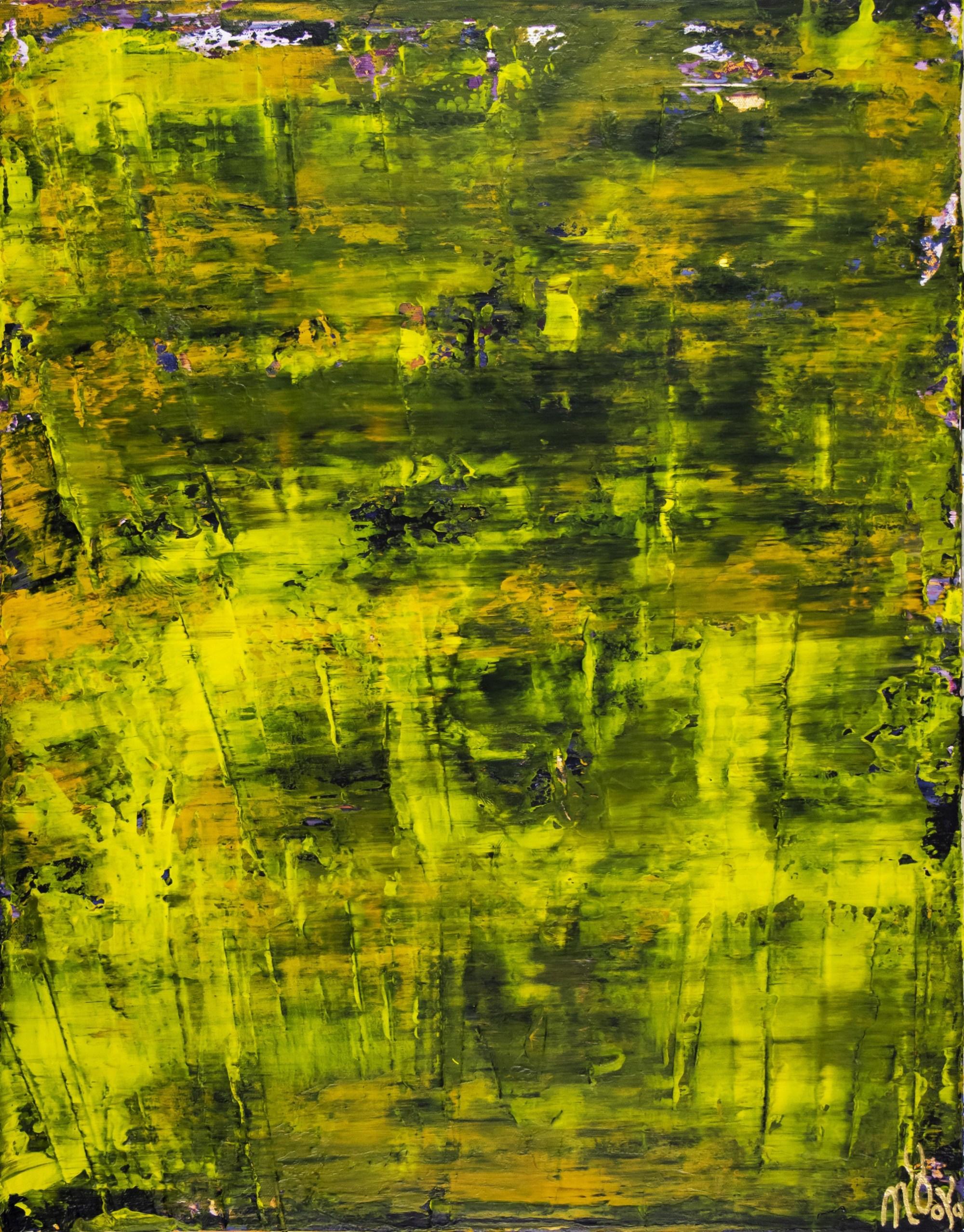 Sunny Forest Canopy (2020) by Nestor Toro