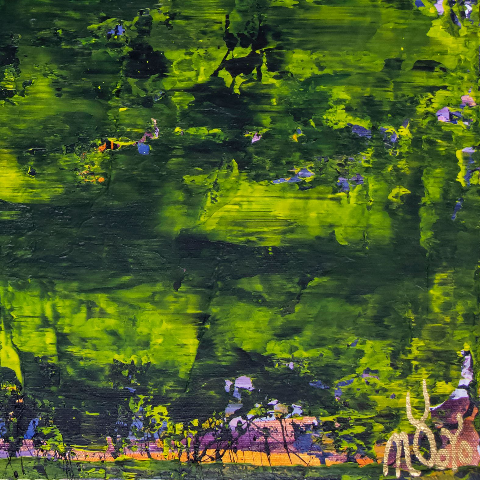 Borneo (Rain forest dream) (2020) by Nestor Toro