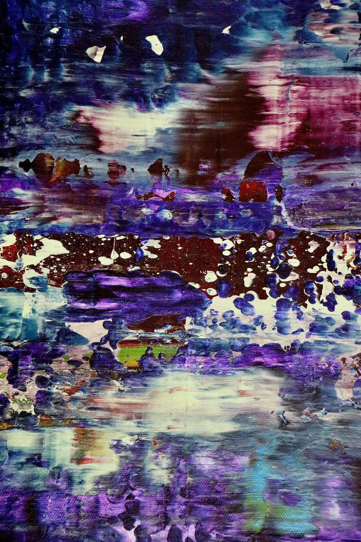 Detail - Amethyst Panorama 2 (2020) by Nestor Toro