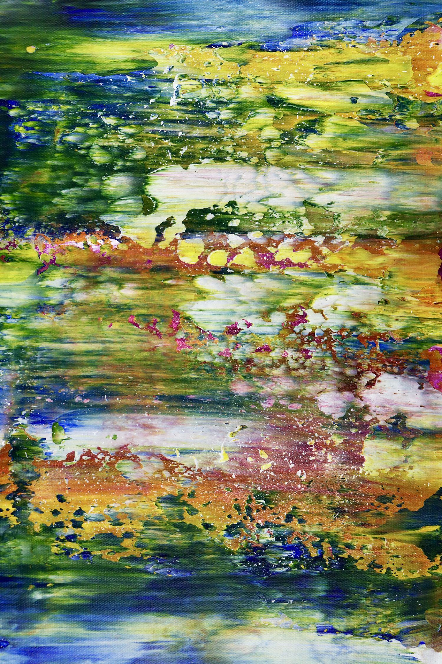 Detail - Rio Azul Infinito (Infinite Blue River) (2020)