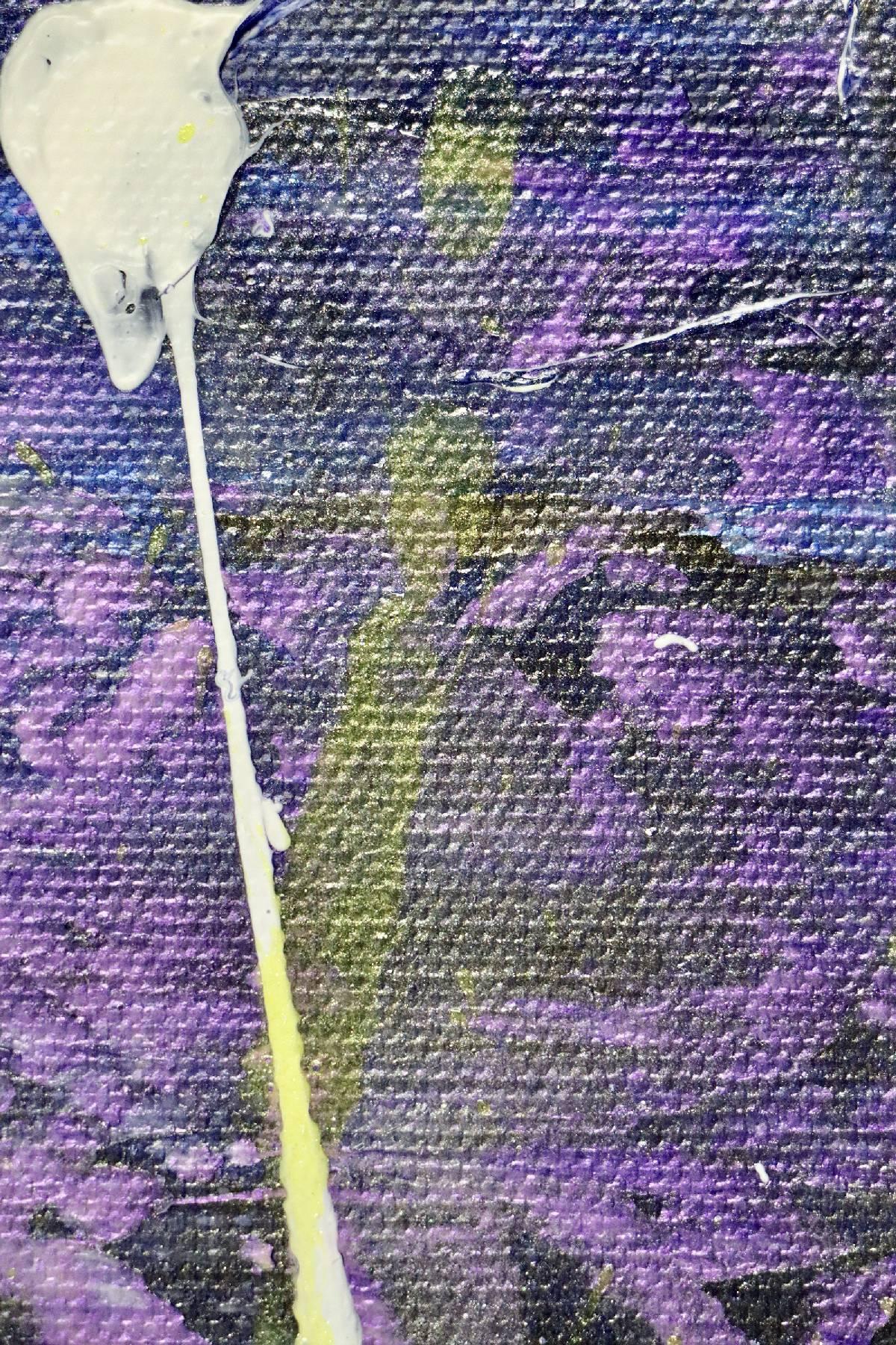 Fantasy takeover (over silver purple) (2020) by Nestor Toro