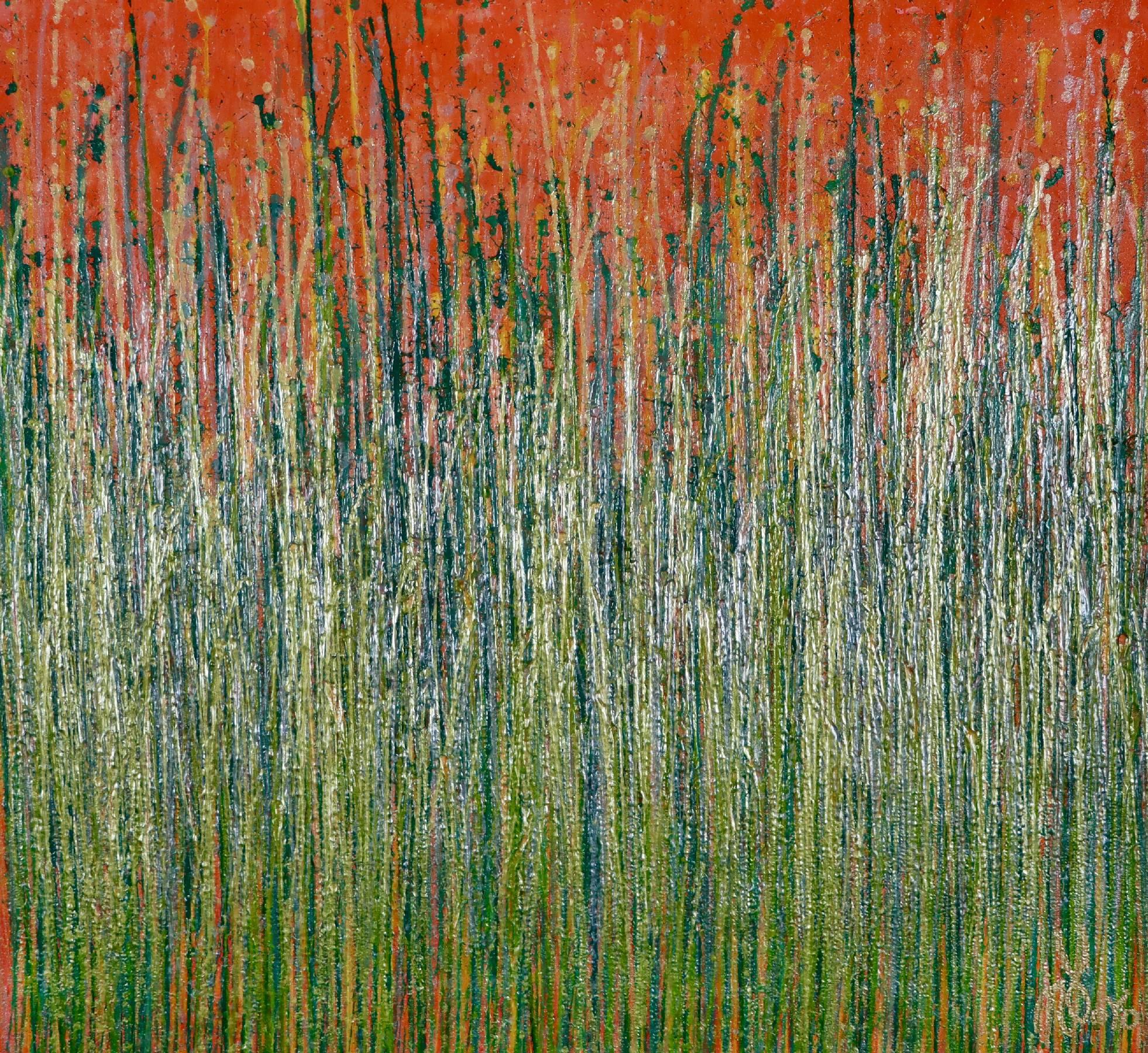 Full Canvas - Daydream panorama (Natures imagery) 18 (2020) by Nestor Toro