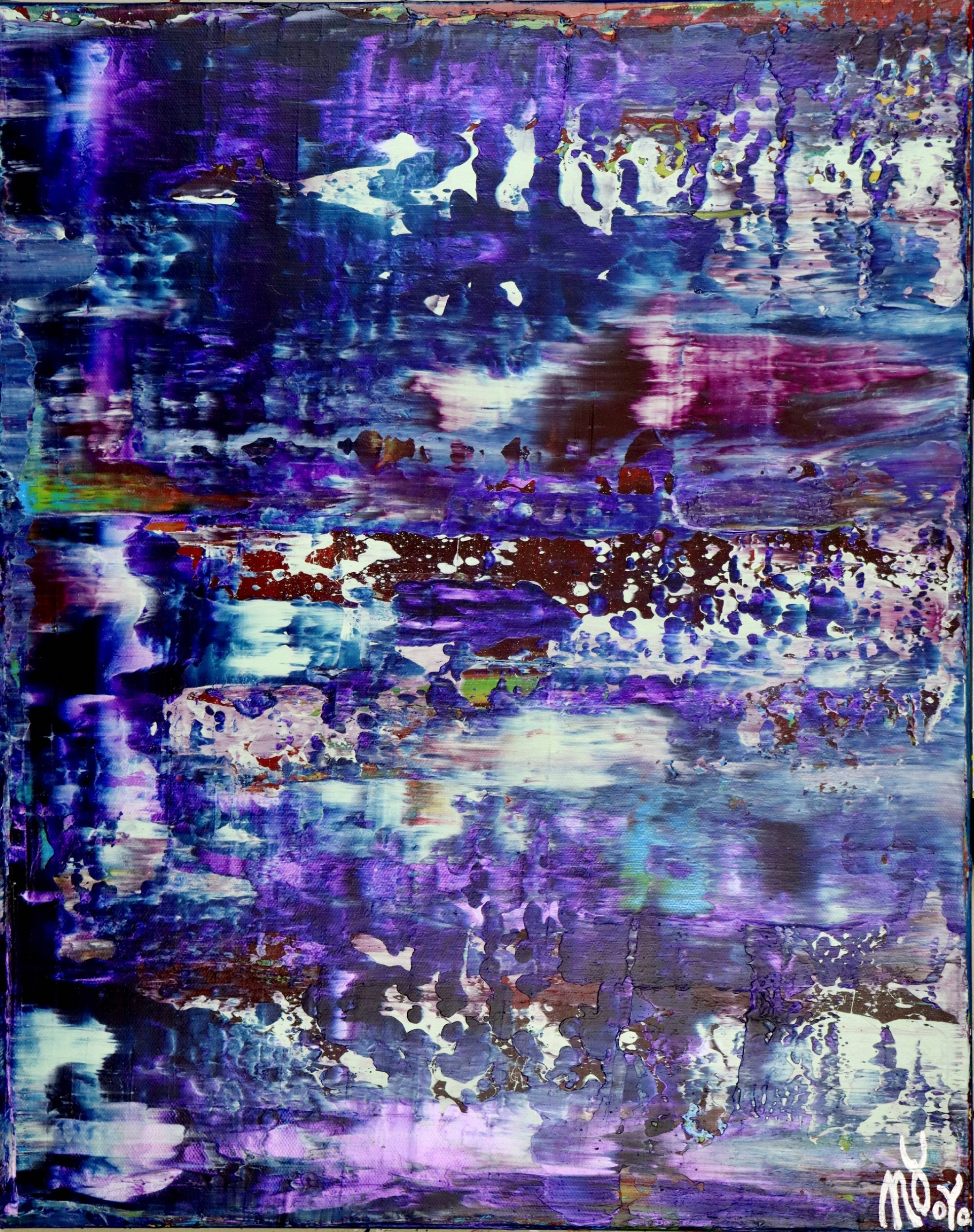 Full Canvas - Amethyst Panorama 2 (2020) by Nestor Toro