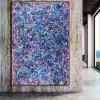 SOLD - Blue Display of Affection (Silver stars) (2020) by artist Nestor Toro