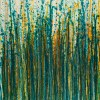 Canvas 1 / Crystal Down (Forest Green) (2020) / Triptych