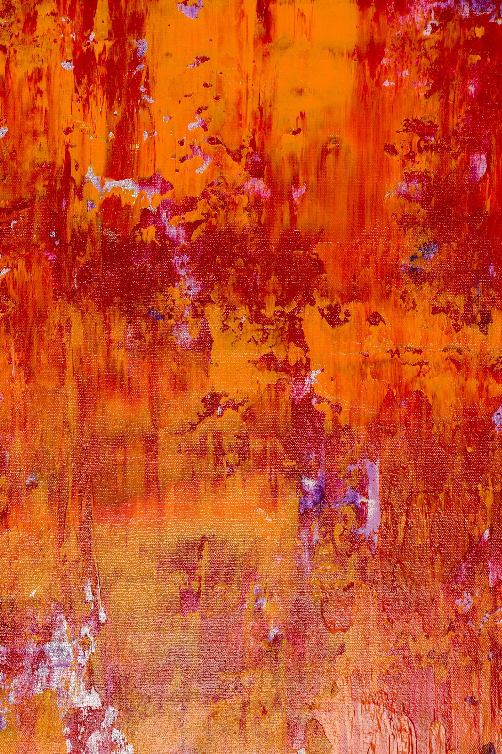 Detail - Fiery Dimensions (2020) by Nestor Toro