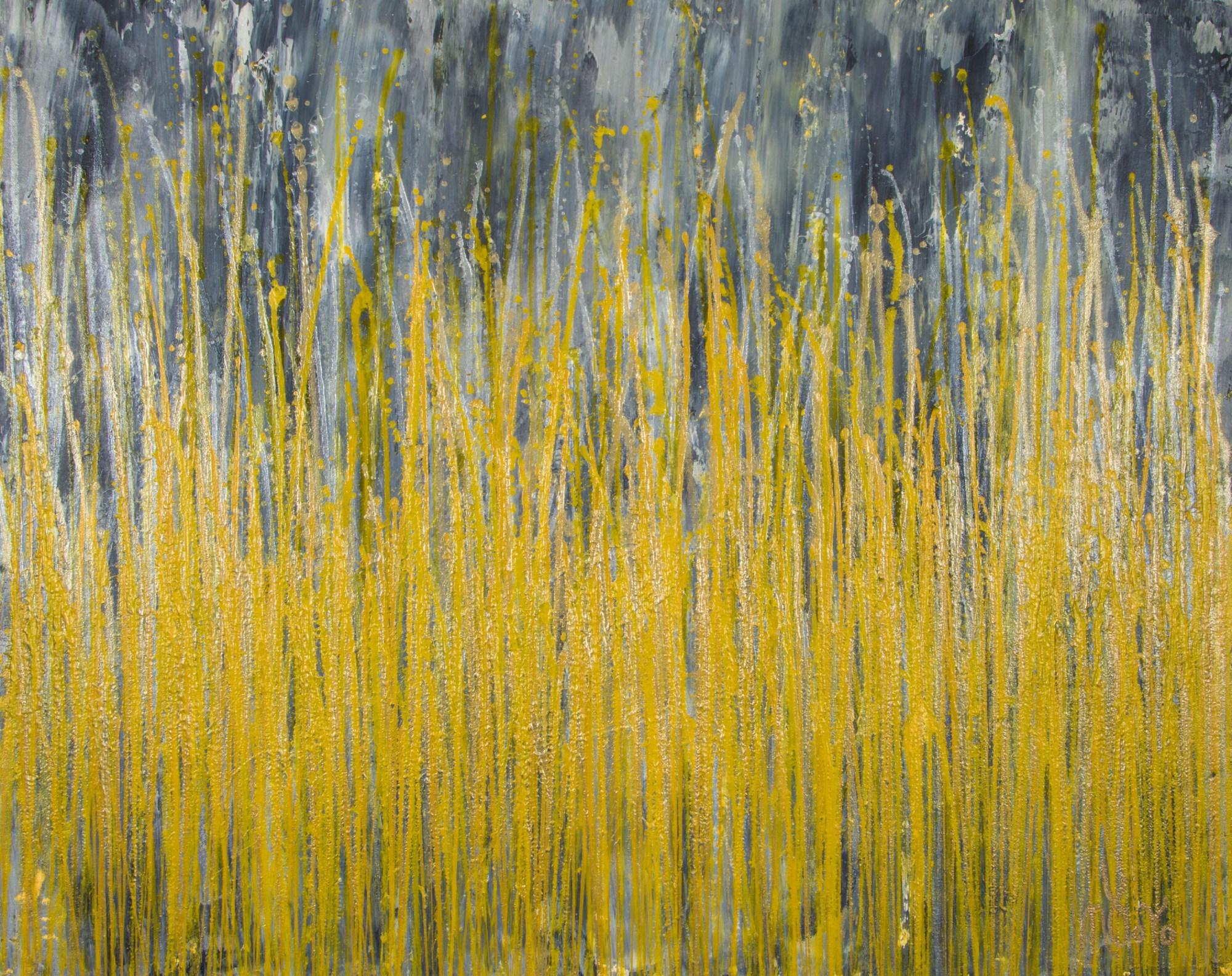 SOLD - Garden In Motion 4 (Autumn) (2020) by Nestor Toro