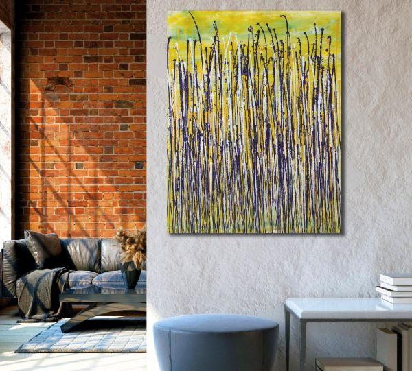 Glare Garden (Purple and Yellow Reflections) (2020) - Nestor Toro