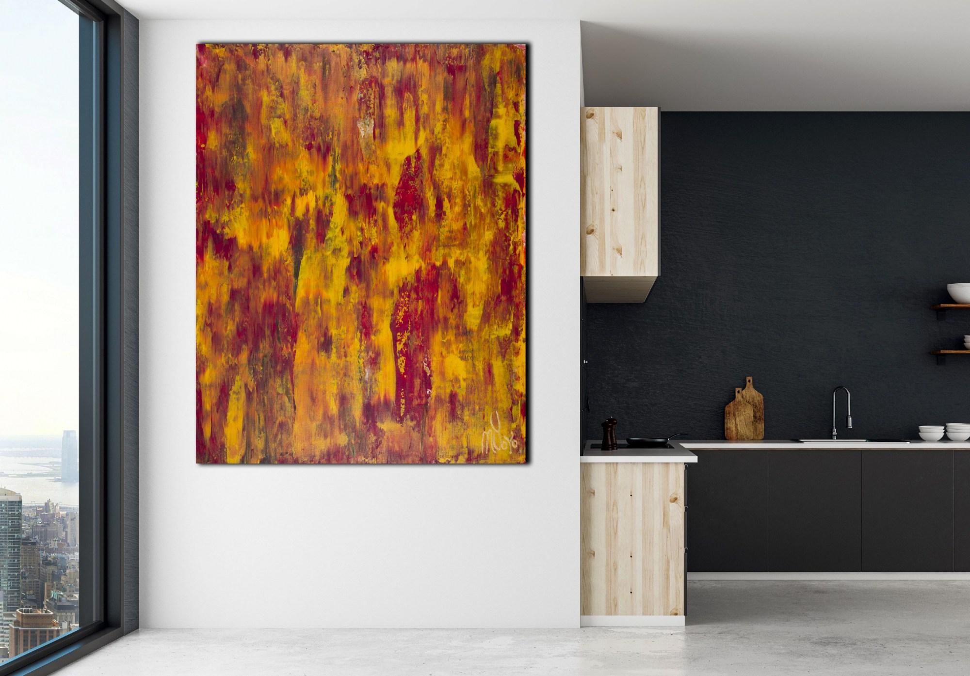 Room View / Fiery Dimensions 2 (2020) by Nestor Toro