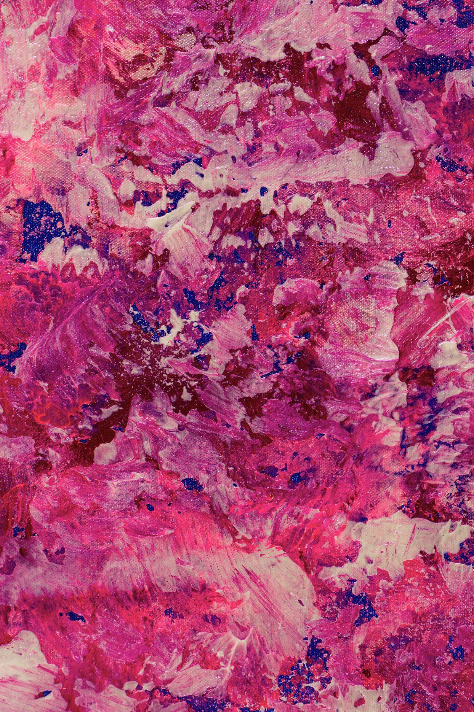 Detail - Pink Rush (Takeover) (2020) by Nestor Toro