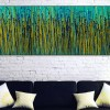 Room example / Vernal Garden (With Green) (2020) / Triptych