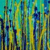 Detail / Vernal Garden (With Green) (2020) / Triptych