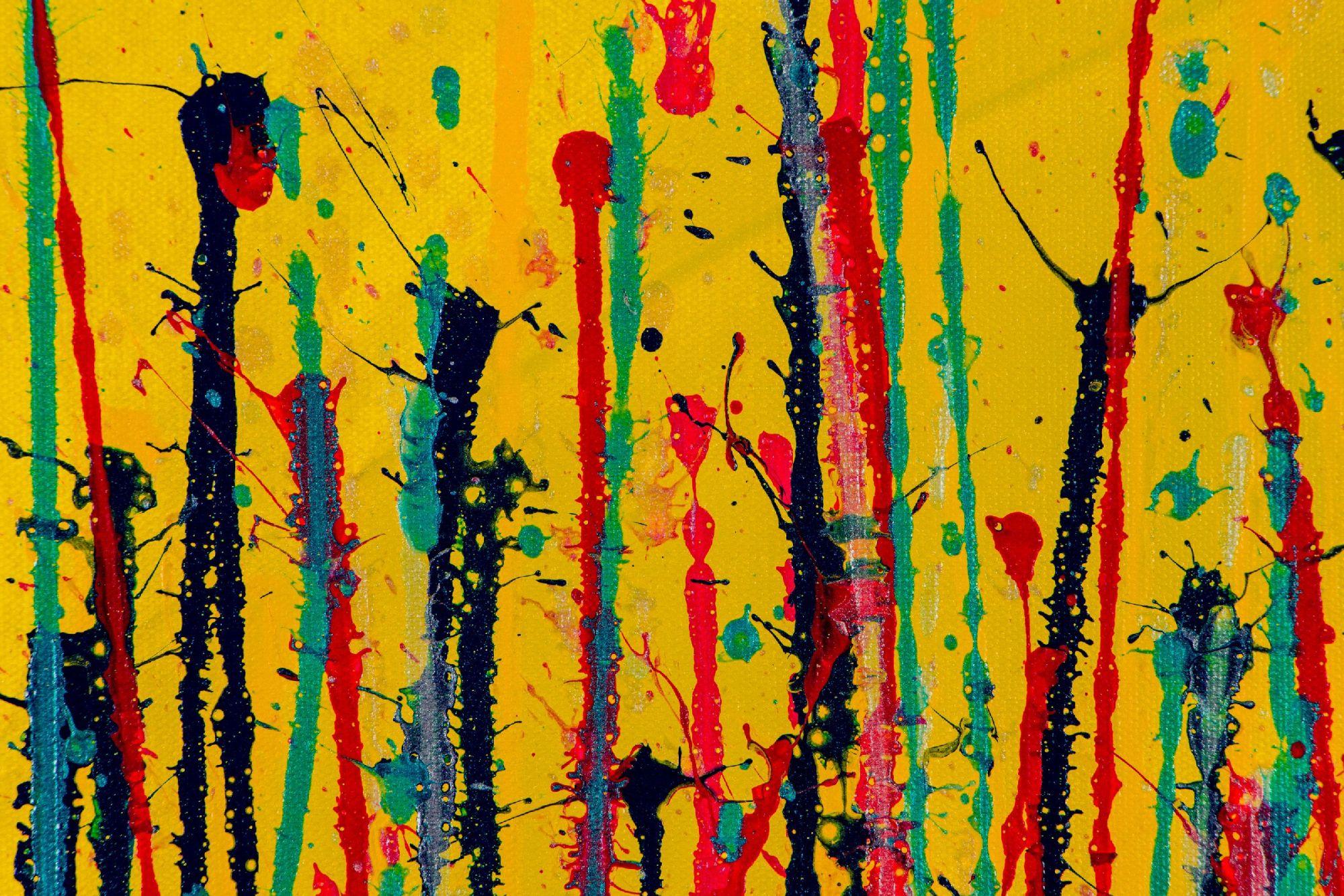 SOLD - Garden In Motion 6 (2020) by Nestor Toro