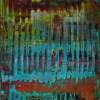 Infinity Terrain (with Turquoise) (2020) by Nestor Toro
