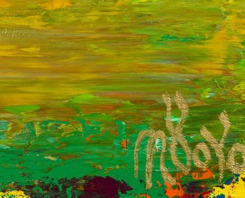 Signature / Isolated Forest (Evening Light) (2021) 22x28 by Nestor Toro