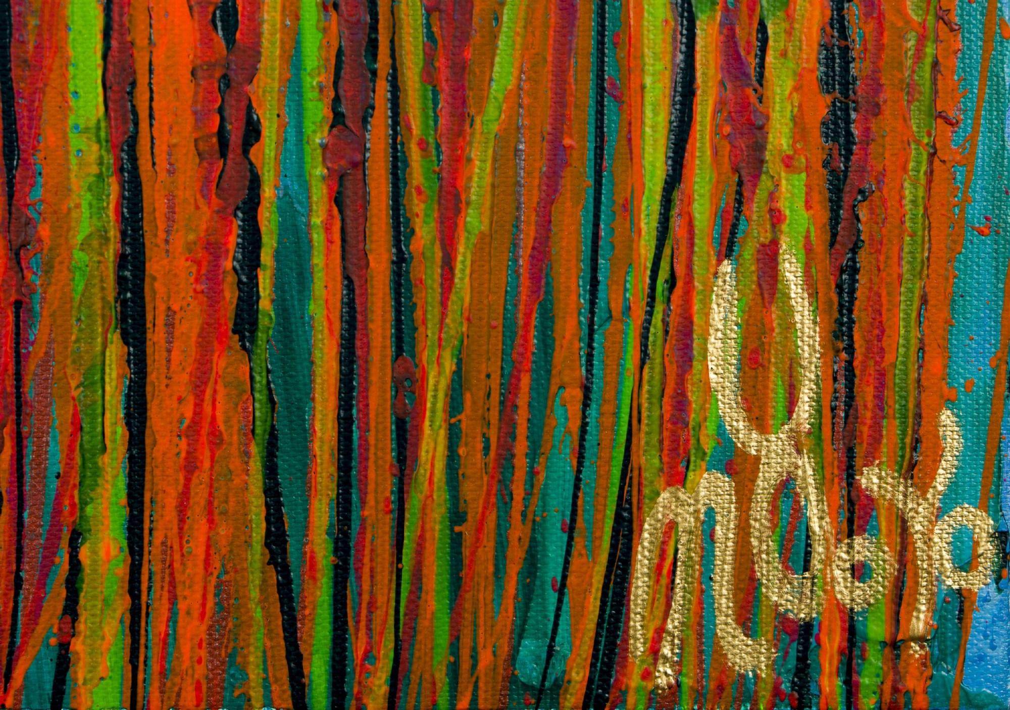 SOLD / Signature / Daydream Panorama #26 (Nature's Imagery) (2021) by Nestor Toro