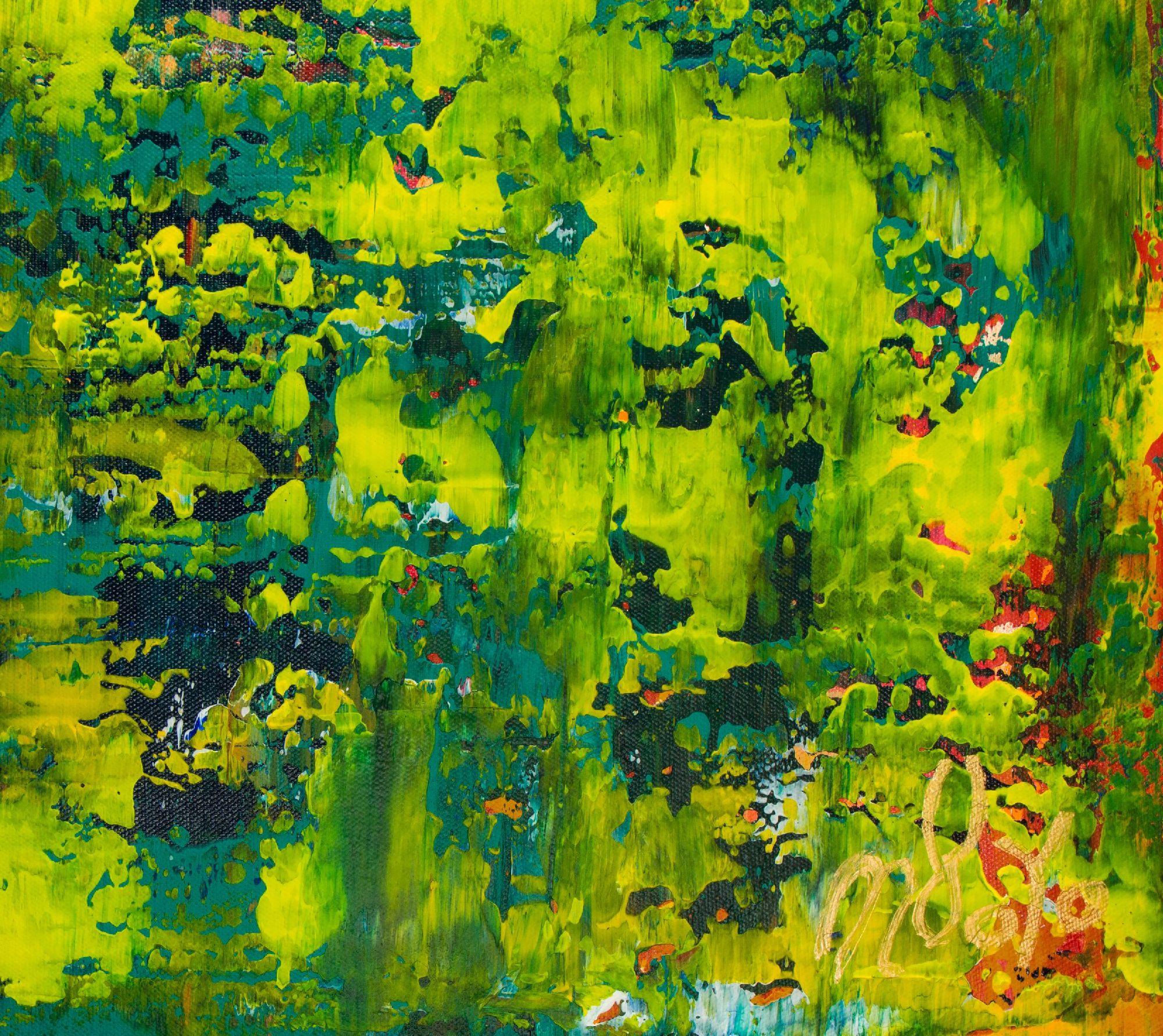 Signature - Spring glimmer (2021) by Nestor Toro