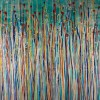 Drizzles Symphony 1 (2021) / Triptych 72x30 inches / Canvas 3