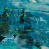 Detail / Frozen Waterflow (Ice ponds) (2021) / Artist: Nestor Toro USA