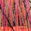 Sudden Pink Storm (2021) 24x30 in / Artist: Nestor Toro