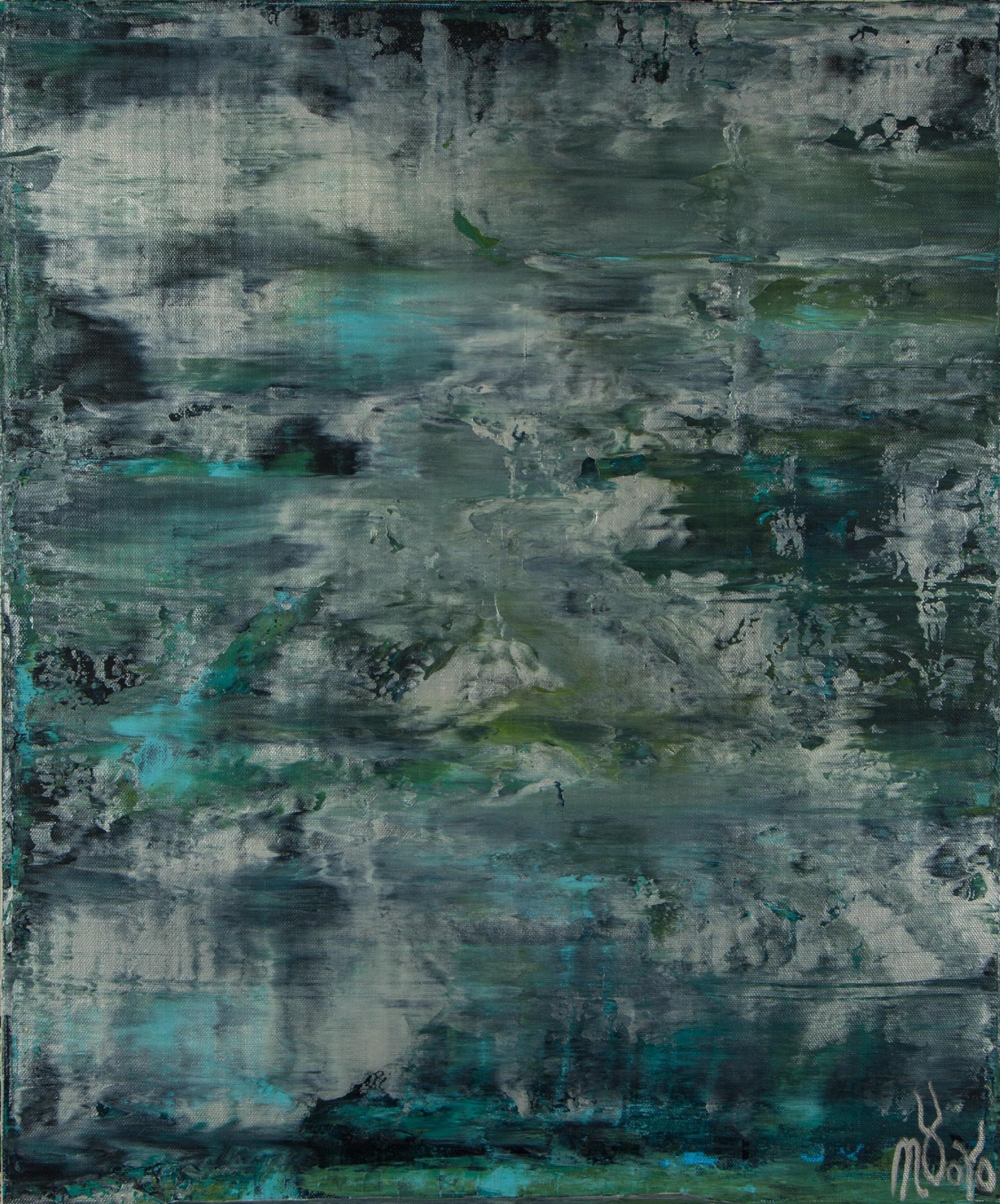 Waterflow (Night Clouds) / (2021) / Artist - Nestor Toro