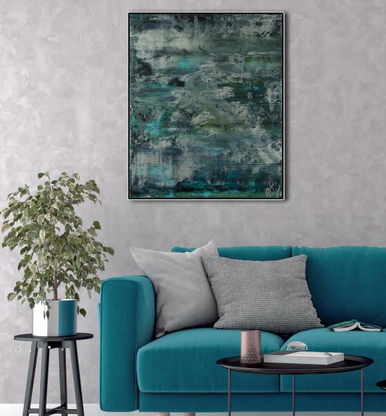 Room example / Waterflow (Night Clouds) / (2021) / Artist - Nestor Toro