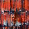 Orange Lights And Shadows (2021) 16x20 inches by Nestor Toro
