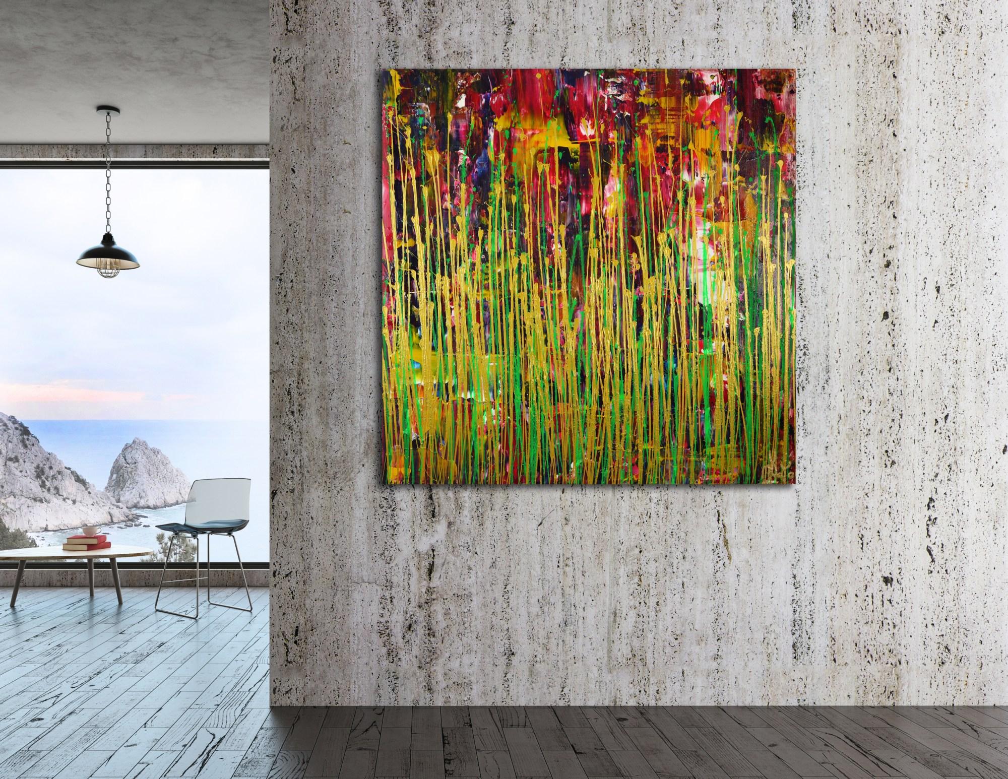 Daydream Panorama (Natures Imagery) 34 (2021) / Room example / Artist: Nestor Toro