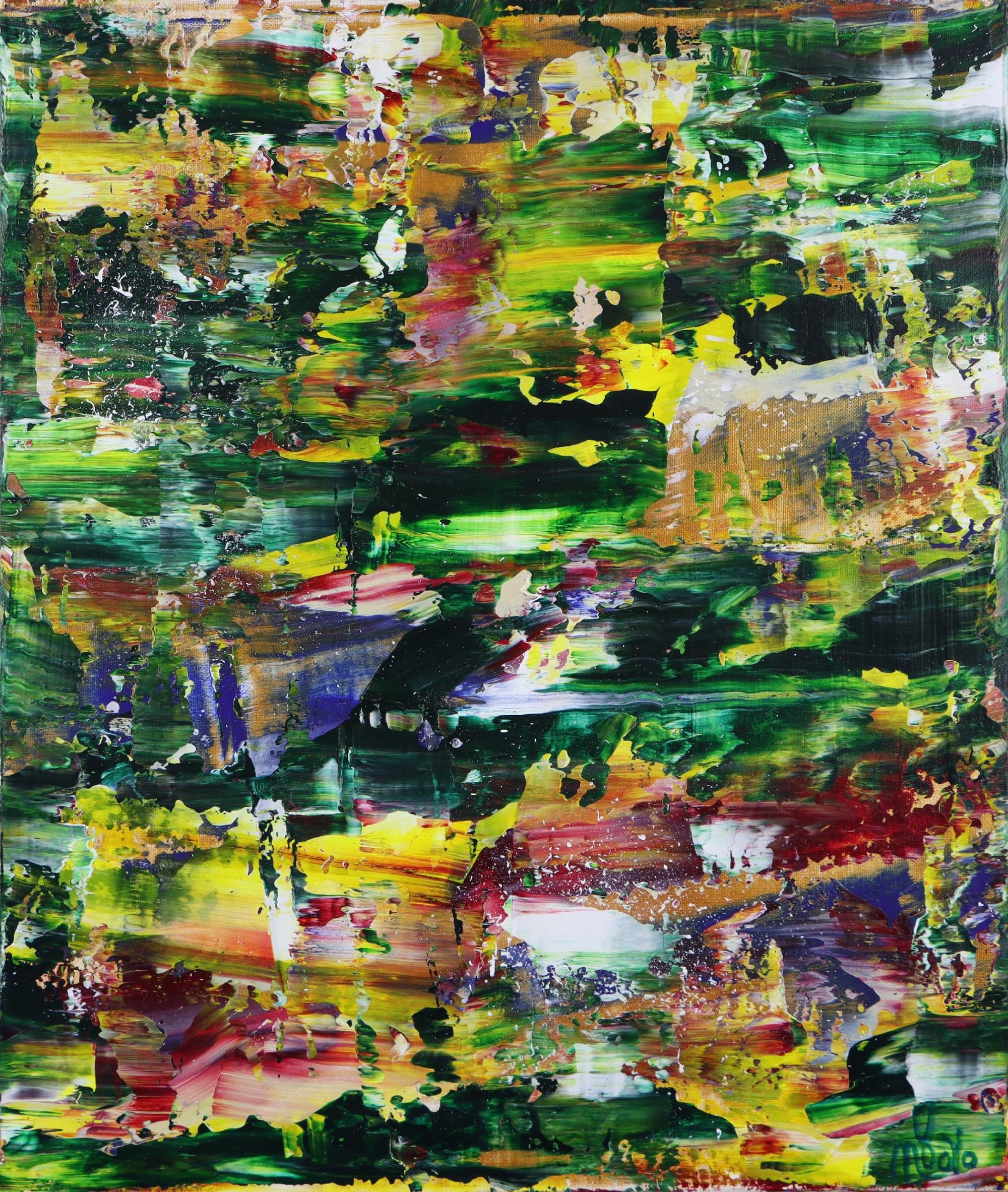 Moss and Rust 2 (2021) 20x24 in / Artist: Nestor Toro