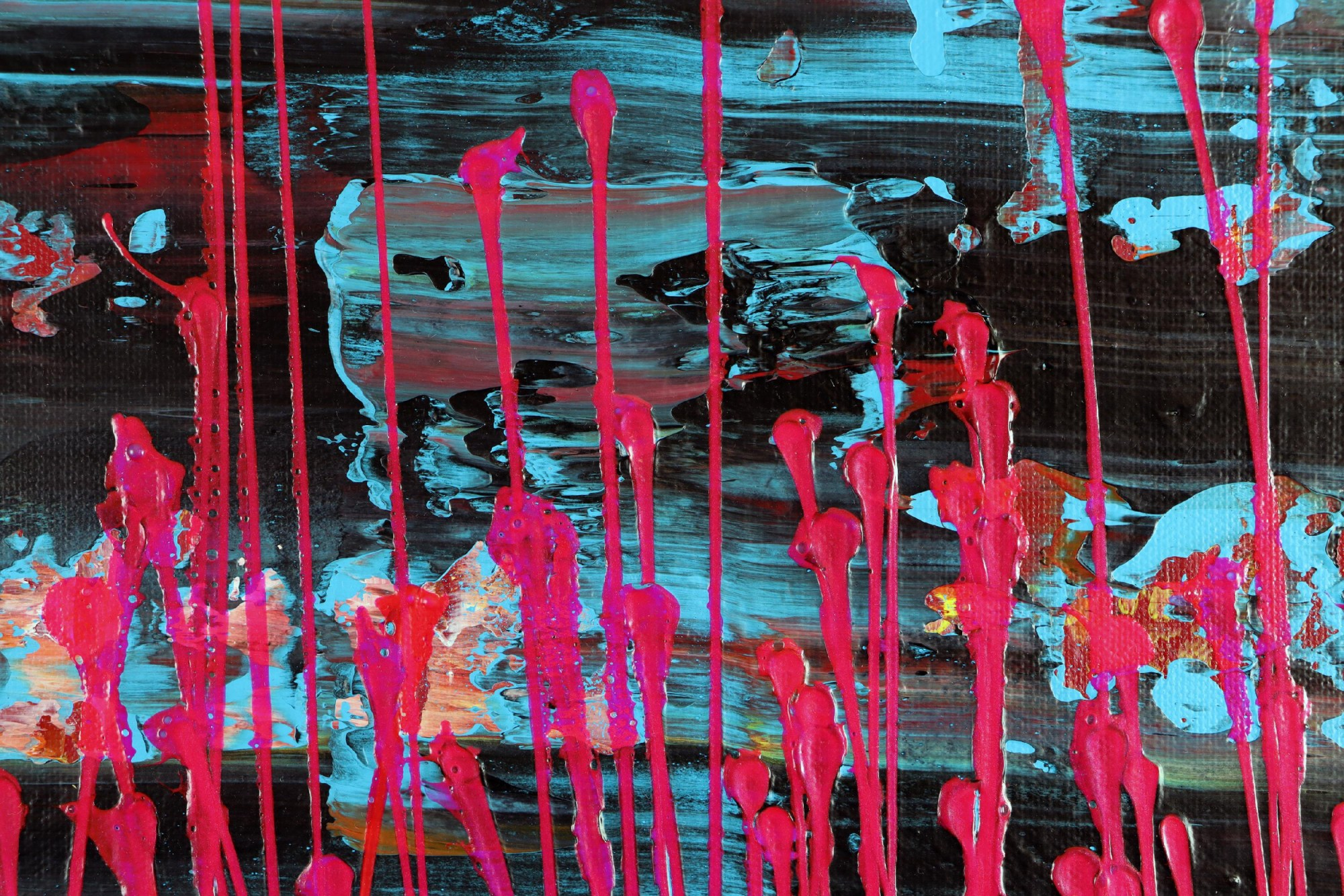 SOLD - Pink Frequencies (Electric Panorama) (2021) / Artist: Nestor Toro