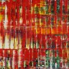 Detail / Infinitely Red (Color reunion) (2021) / 24x36 inches / Artist: Nestor Toro