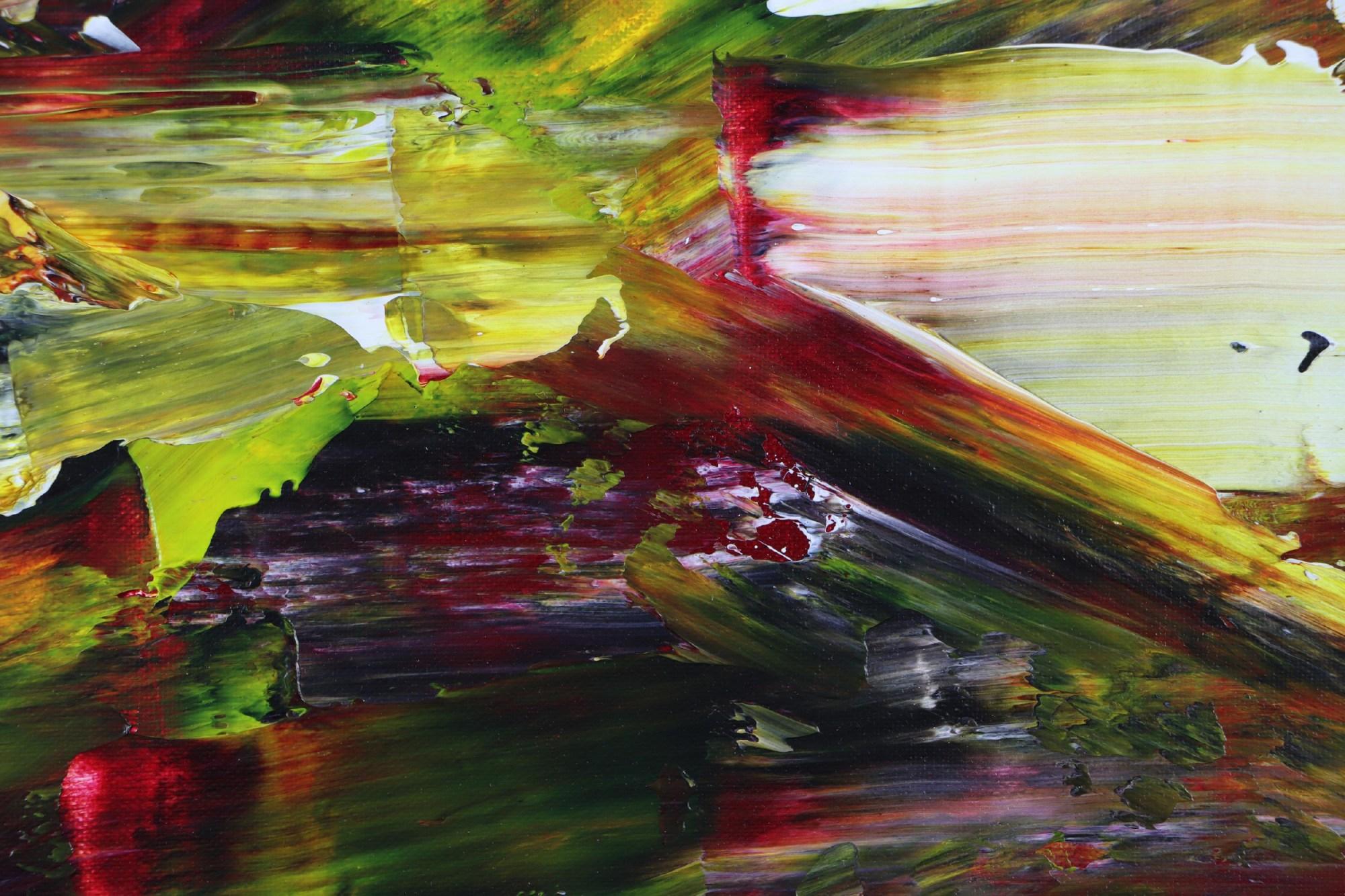 Detail / Moss and Rust (2021) 20x24 in / Artist: Nestor Toro
