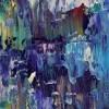 Detail / Iridescent Midnight Blue (2021) by Nestor Toro - Los Angeles