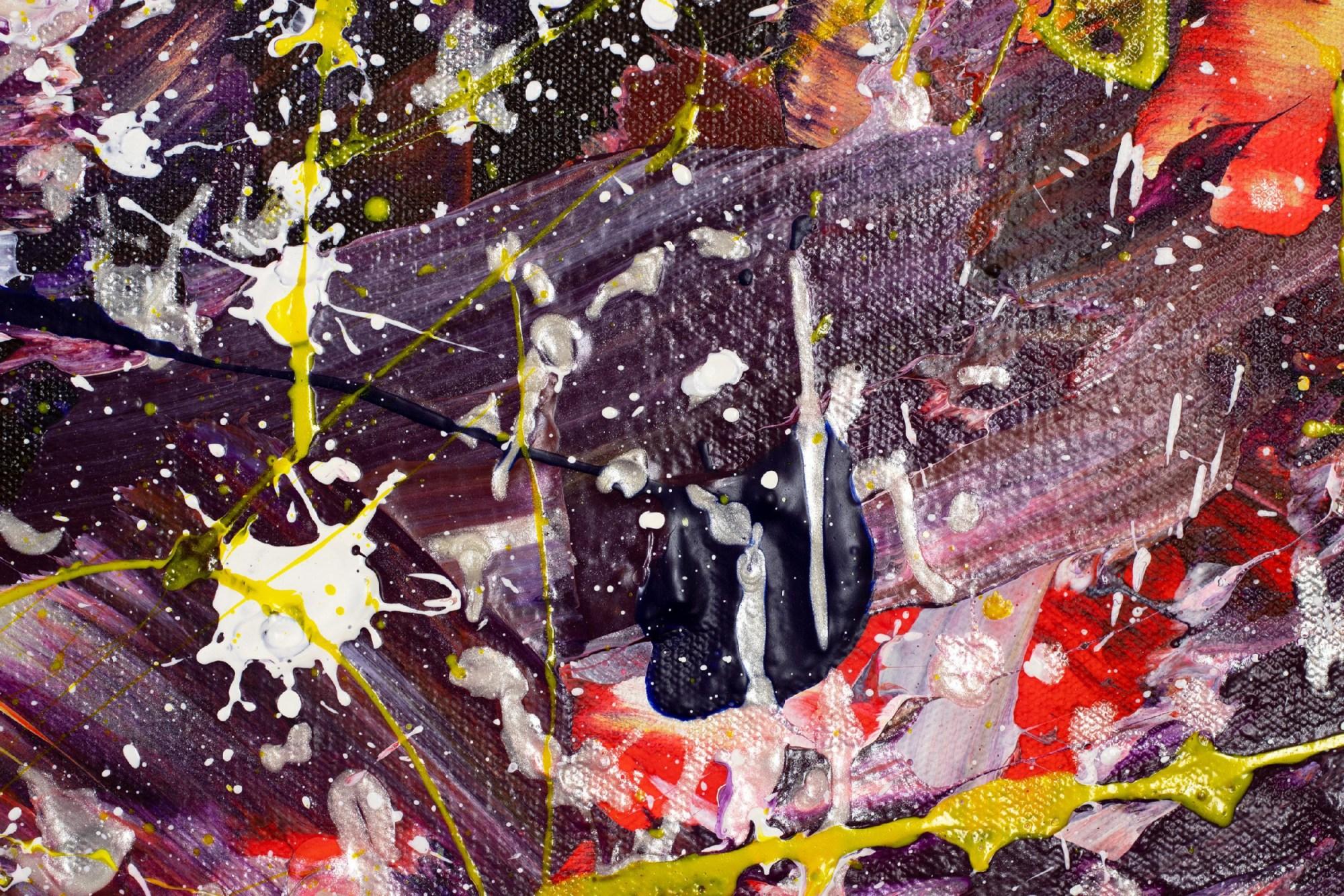 SOLD - DETAIL - Autumn Carousel (Autumnal Equinox) 2021 by Nestor Toro