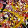 SOLD - DETAIL - Autumn Carousel (Autumnal Equinox) 2021 by Nestor Toro