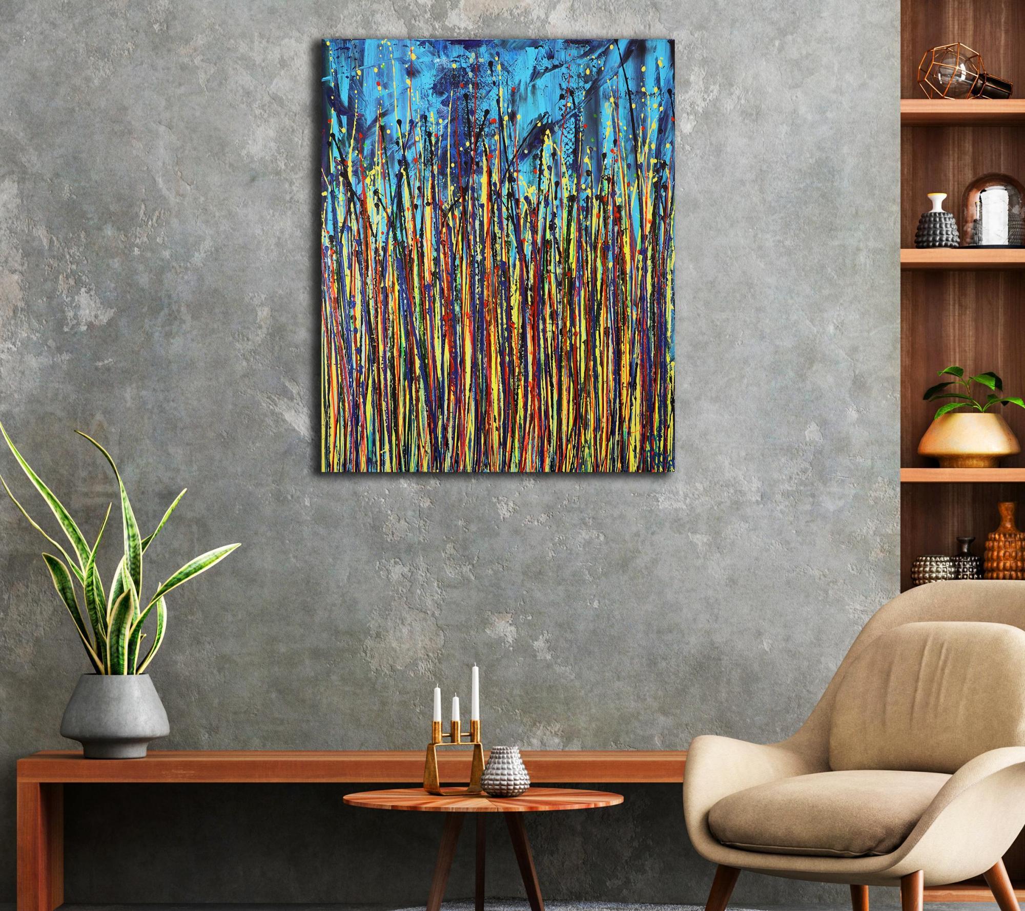Faces of Nature 1 (2021) / Room example / Artist: Nestor Toro