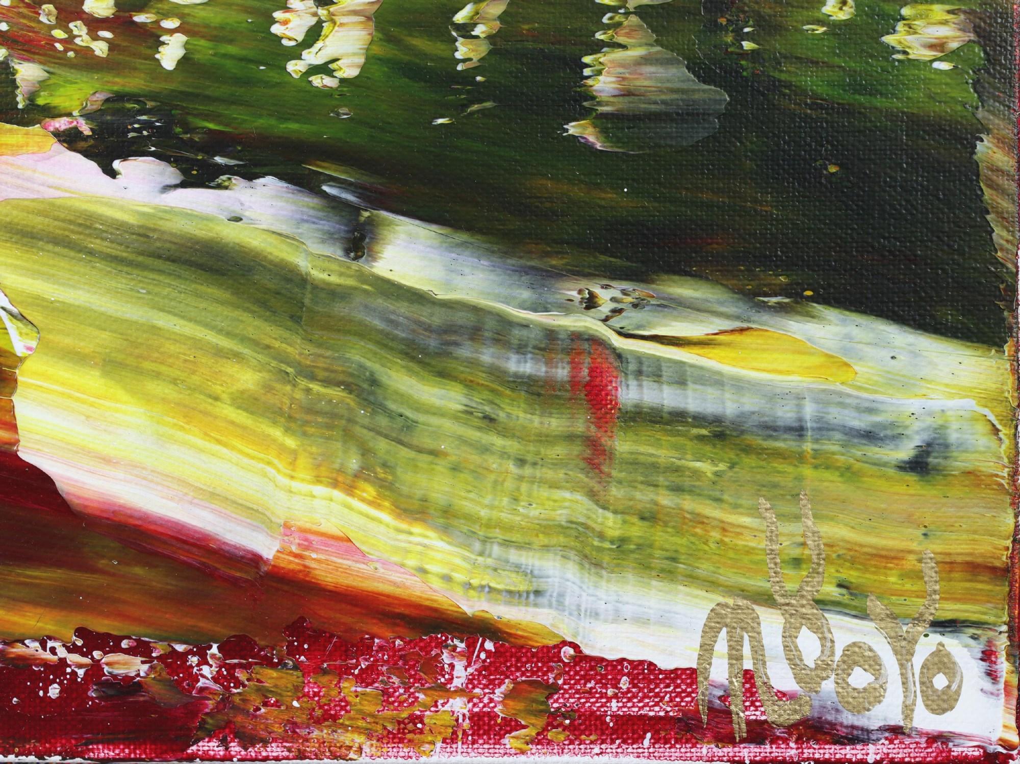 Signature / Moss and Rust (2021) 20x24 in / Artist: Nestor Toro