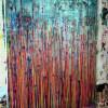 Studio view / Daydream Panorama (Natures Imagery) 38 / 24x30 (2021) / Artist: Nestor Toro