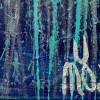 SIGNATURE Detail / Nighttime Fearlessness 7 (2021) / Diptych / Artist: Nestor Toro