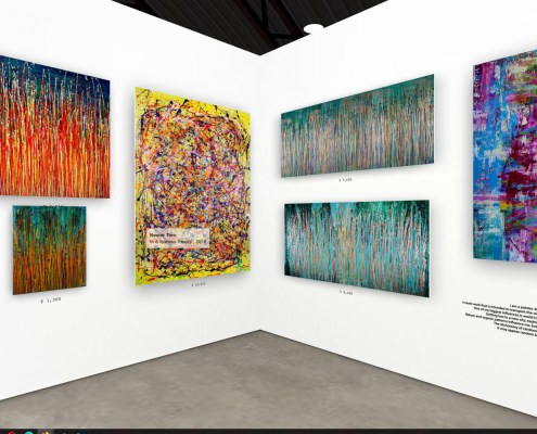 Artist Nestor Toro / The Other Art Fair - VE - 2021 - Los Angeles